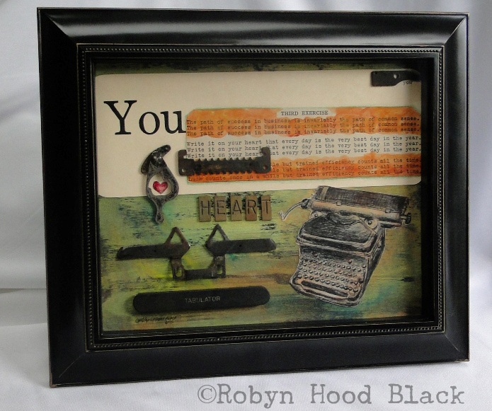 You typewriter - write it on your heart RHB