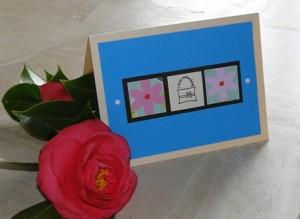 lovely orignal handmade card by Alison