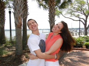 Sibling Revelry - Seth and Morgan in Beaufort, SC.