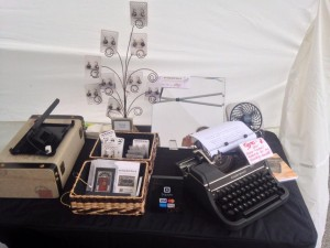 art in the square 2013 typewriter key earrings
