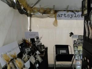 artsyletters booth DBF 2013 interior