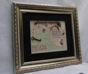 Columbus framed
