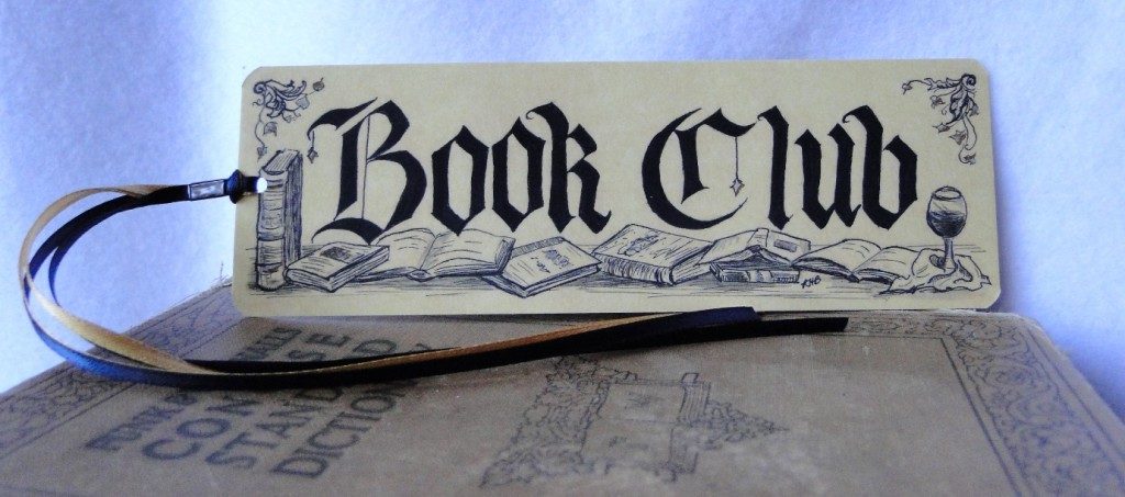 book club bookmark