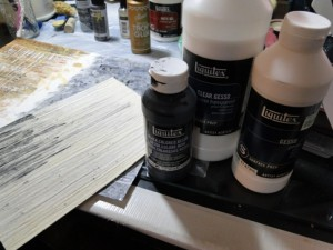 Love me some gesso....