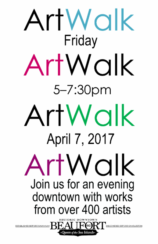 artwalk poster spring 2017