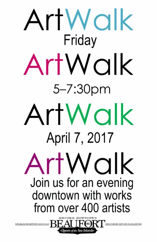 artwalk poster spring 2017