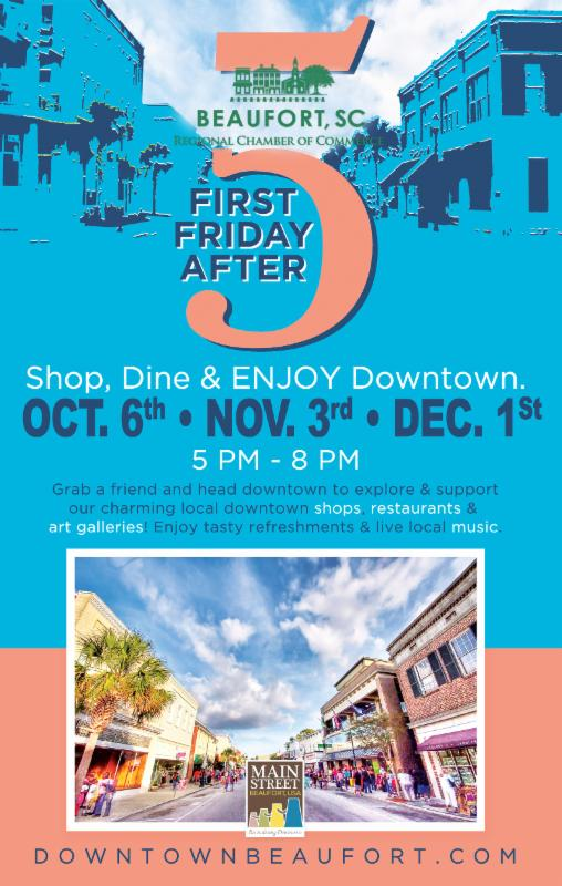 First Friday fall 2017